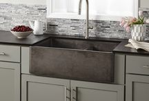 It's all about Sinks / Kitchens, Baths, and Laundry areas require sinks of all shapes, designs, and styles. This is a place to share a broad range of sinks.