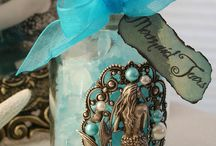 Mermaids and sea creatures / Obsessed with mermaids and sea creatures of any kind! / by Sandi's Shellscapes