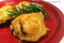 Bake Chicken Thighs - Kitchen Wisdom Gluten Free / Kitchen Wisdom Gluten Free Baked Chicken Thighs - Formula Recipe http://kitchenwisdomglutenfree.com/2014/10/10/marinated-baked-chicken-thighs-forget-what-you-know-about-wheatc-2014/