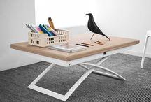 Mesas de centro-comedor / coffee-dining tables