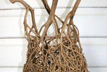DIY natur materialer - Luonnonmateriaalit