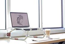 metal leptop masası