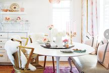 Living spaces: Le dining / Amazing ideas and inspiration for dining spaces at home