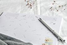 Merely Susan / Daily illustrations · Botanical prints · Surface pattern design · Creative workshop