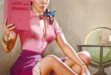 K.O. Munson pin ups / by Jerry Gruber