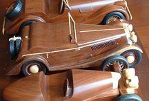 Wooden models