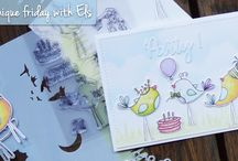 Elisabeth CRAFT Designs birdcards