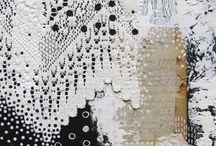 Colaj textil & felting