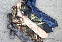Camo Ties / Uncover New Twists on a Favorite Pattern - camo print