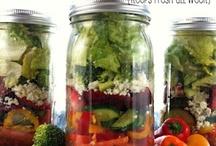 Food in Jars + Glass / by Karen Tobich