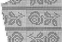 Узоры на основе филейной сетки