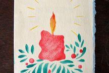 candela e agrifoglio