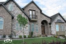 Stone & Brick Combinations | Kodiak Mountain Stone