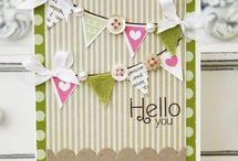 Craft Ideas - Banners / Cards made with banners