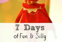 Elf on a shelf ideas / ideas for the Elf at Christmas
