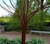 metall träd