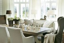 Dining Rooms and Breakfast Rooms / by Brooke Wise
