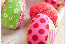 Easter Crafts / Sewing and craft projects for Easter.