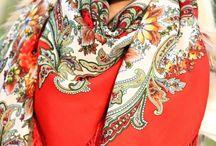 Russian Shawls Lookbook / Looks from www.russian-shawls.com