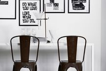 """Stylish Home / """"Don't tolerate things in your home just because. When you're in your home, make sure it's exactly what you want. Style and comfort are only successful when they're hand in hand."""" Todd Oldham / by Kadee Gray"""