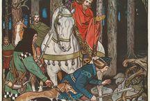 Once upon a time / Contes &légendes sont une source inépuisable d'inspiration pour les artistes & illustrateurs