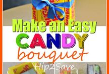 Candy Bouquet-diy