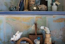Stylist Tim Neve Shopfront - March 2015 / Stylist Tim Neve's Shopfront in Islington, NSW themed for the launch of his book 'Sandcastles - Interiors inspired by the Coast'