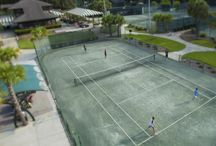 Tennis / With 34 courts, 11 lighted for night play in three facilities across the island, plus clinics, tourneys and an active scene for all levels of play make tennis here superb.