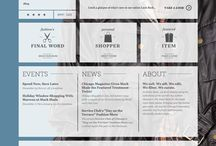 Website / Design / by Renee Kimball