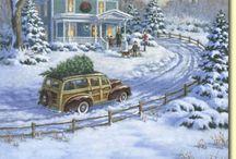 Navidad.Interiores casas