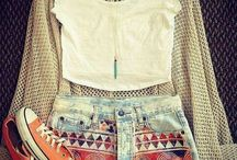 Clothing and fashion outfits / by MacKenzie Flickinger