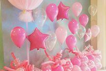 Birthday party ideas ❤ wedding deco