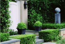 Outdoor Spaces I Like / Gardening, favorite patio and garden furniture, benches, planters, urns, outdoor decor, weathervanes, fountains and more! Curated by Melissa Hawks, owner of The Well Appointed House www.wellappointedhouse.com - join our Facebook page, too!  https://www.facebook.com/pages/The-Well-Appointed-House/48191054442?ref=hl / by The Well Appointed House by Melissa Hawks