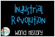 World History:  Industrial Revolution / Educational resources on the industrial revolution