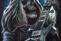 смерть с гитарой