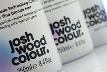 Josh Wood Colour / A Gloss and pearl varnish gives these minimalist labels a luxury edge.