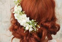 Bridal hairdo