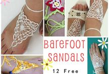 barefoot sandals crochet and other patterns