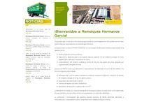 Web / Web de Remolques Hermanos García