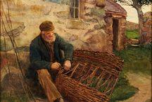 Punojia töissä - Weavers at work