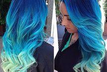 красочки для волосиков