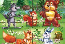 Vadállatok puzzle
