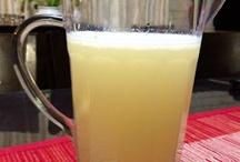 Home made lemonades