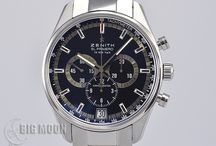 BIGMOON Zenith Watches / A board of our newest arrivals of pre-owned Zenith watches.