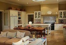 Open plan kitchen/ livingroom/ dining room