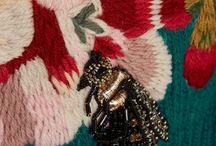 Bee & bugs motifs