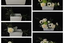 FLORAL DIY IDEA  / Steps by step floral arrangements