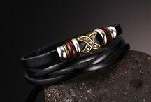 --Trendy Armband Echtes Leder Ab 1 Euro Schnäppchen garantiert Ab 1 Euro