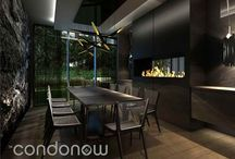 Toronto New Condo Interior Shots / Beautiful, inspiring and interesting new condo interior images.
