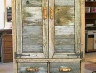Barn board furniture